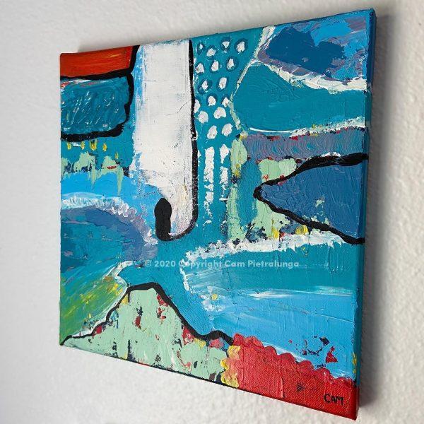 Annihilation I - Cam Pietralunga Abstract Painting