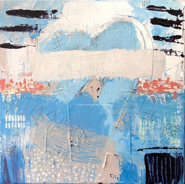 Coast - Cam Pietralunga Abstract Painting