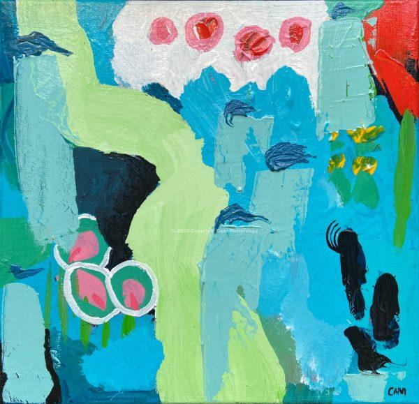 Vigilance - Cam Pietralunga Abstract Painting