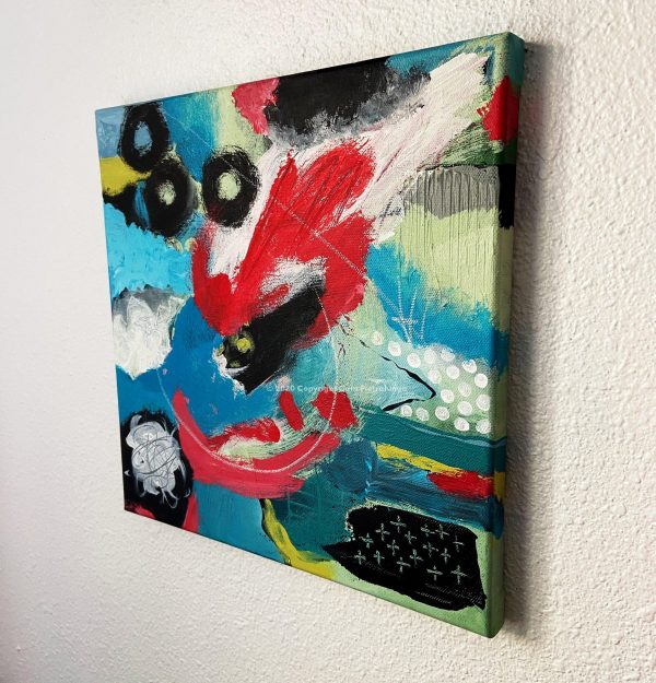 Boom! - Cam Pietralunga Abstract Painting