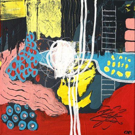 Interchange - Cam Pietralunga Abstract Painting