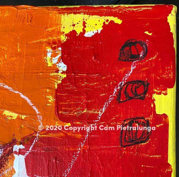 Turn detail -Cam Pietralunga Abstract Painting